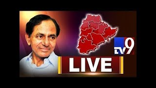 LIVE: KCR press meet; manifesto committee..