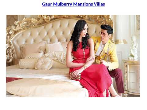 Gaur Mulberry Mansions Housing Project