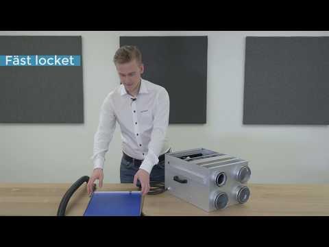 Service och filterbyte Acetec EvoDry PD