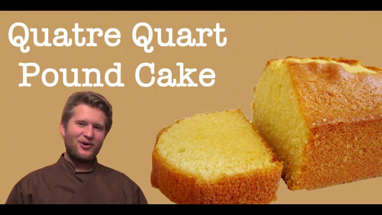 french pound cake recipe 39 quatre quarts 39 using goose. Black Bedroom Furniture Sets. Home Design Ideas