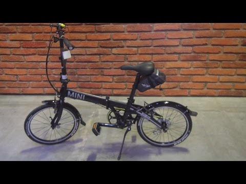 MINI Folding Bike Black (2016) Exterior and Interior in 3D
