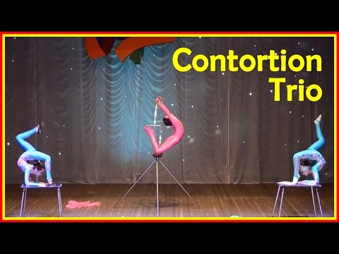 Most Flexible Contortion Girls
