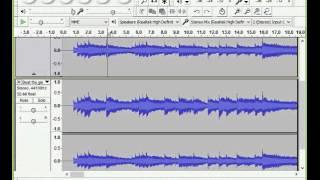 Hướng dẫn tách lấy Vocal (giọng ca sĩ) trong Mp3 bằng Audacity