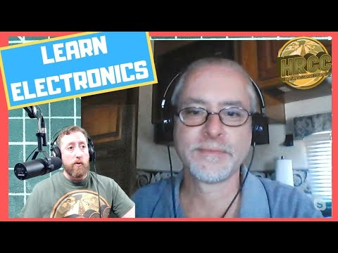 Ham Chat With Kevin Loughin - QRP Amps and Learning Electronics