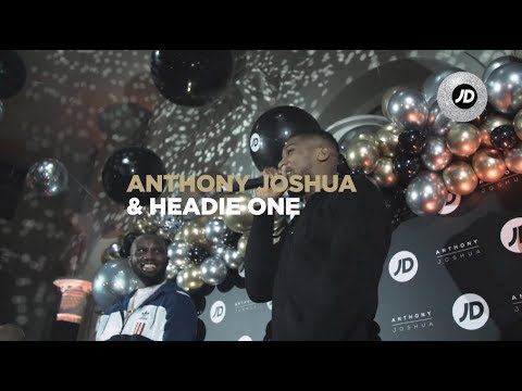 jdsports.co.uk & JD Sports Promo Code video: 🌎! EXCLUSIVE Anthony Joshua x Headie one spit bars