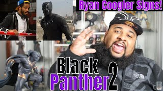 Ryan Coogler Signs to Direct/Write Black Panther 2! | BP2 Predictions!