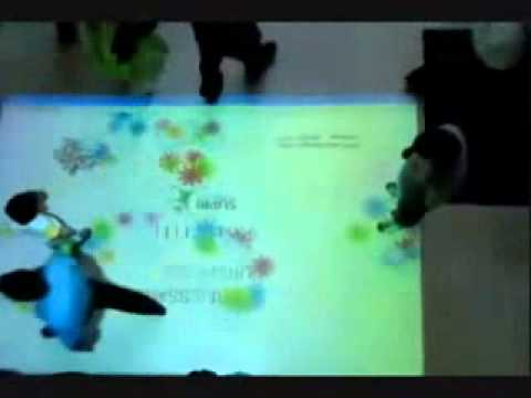 Interactive Floor/ Body Tracking