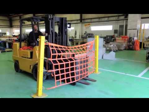 Loading Dock Safety Net Destructive Testing