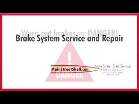 Complete Brakes Service Santa Maria- Front and Rear Brakes, Brake Pads, Brake Rotors, and More