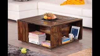 27 Crate Coffee Table For A Fun Living Room Design