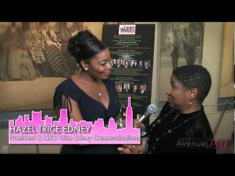 Avenue Pink: Hazel Trice Edney - CBC Black Wealth Reception