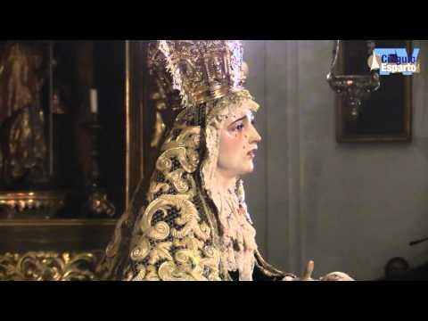 Besamanos Virgen de los Dolores de la Hdad de Santa Cruz