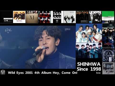 SHINHWA - 20 years music history [total 100 songs] Since 19980324