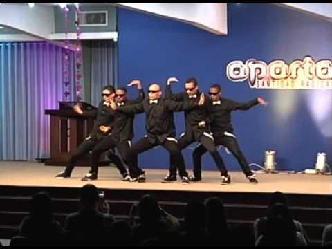 Luz EN las Tinieblas - LENT - N.G - en APARTA2 - ( ELETRO DANCE ) ( Robot dance )