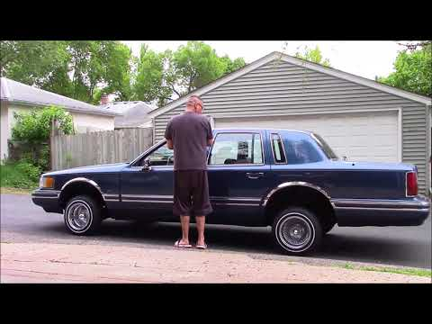 Lincoln Town Car Lowrider 2002 Videomoviles Com