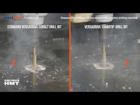 HMT 10.5mm VersaDrive TurboTip Impact Drill Bit