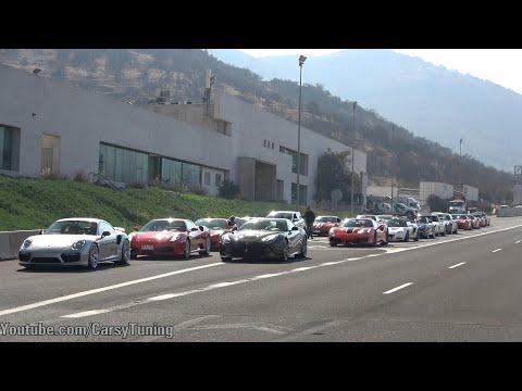 Supercars en Santiago Chile Vol 70 - Urus x2, GT2RS, G500 4x4², A45 AMG S y mas!