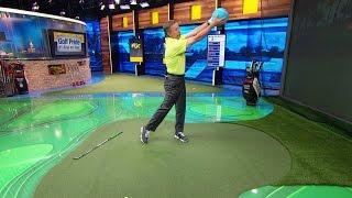 The Golf Fix: Improve Golf Swing Trajectory | Golf Channel