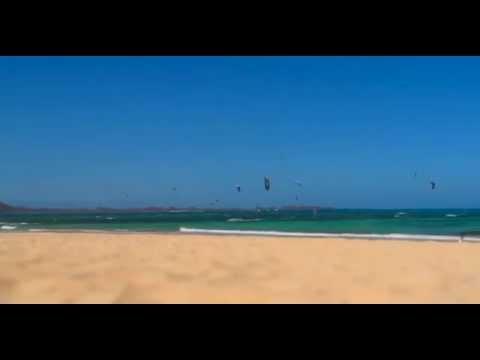 Time lapse kitesurf Las Dunas - Fuerteventura