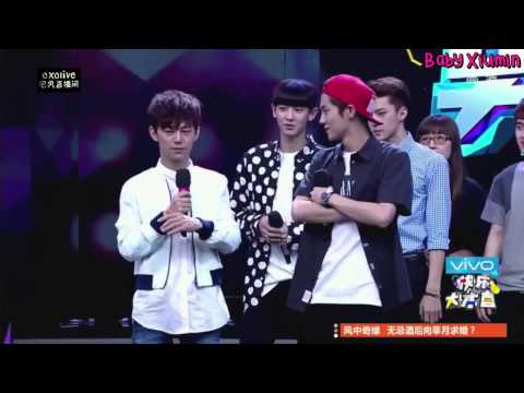 [ENG SUB] 141025 Happy Camp EXO Unreleased FULL Cut