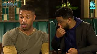 Black Panther Cast Interview In South Korea (V live Movie Talk)