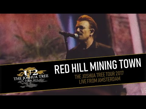 U2 plays RED HILL MINING TOWN in AMSTERDAM (MULTICAM - HD/PRO-Audio)