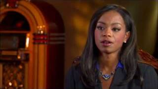 Showtime Inside the NFL: Josina Anderson interviews Tiffany Burress and Brandon Jacobs