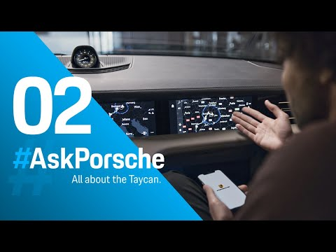 #AskPorsche    Part 02 - Performance in winter, acceleration, road trips and the idea of the Taycan