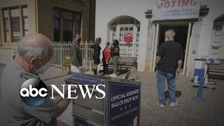 Voting is underway in all 50 states, showing record-breaking turnout