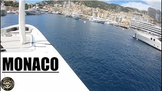 HOW TO DOCK A SUPER YACHT IN MONACO (Captain's Vlog 71)