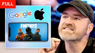 Fortnite BANNED by Apple and Google