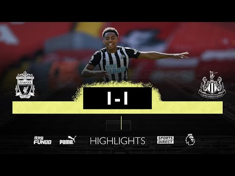 Liverpool 1 Newcastle United 1   Premier League Highlights