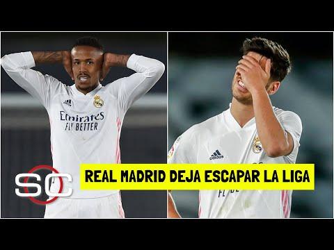 SE LE ESCAPA LA LIGA al Real Madrid. Ya no depende de si mismo tras empate vs Sevilla   SportsCenter
