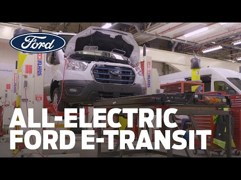 The All-Electric Ford E-Transit | Time-Lapse Build
