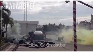 Detik-detik Penangkapan Teroris di Bandara Ngurah Rai