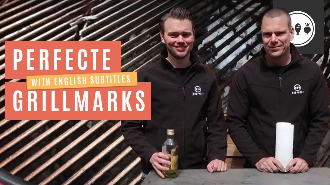 BBQ tutorial #5: Hoe krijg je de perfecte grillmarks?