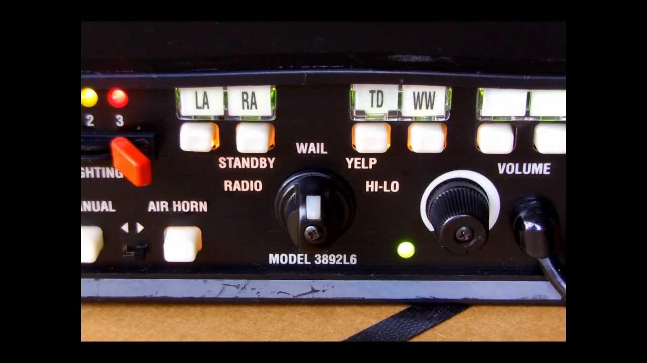 code 3 flasher wiring diagram code 3 mastercom siren tones - youtube