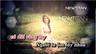 [Karaoke HD] Mùa Xa Nhau | Full Beat Gốc | Emily  | Newtitan