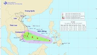 Tin áp thấp nhiệt Đới Mới Nhất : Tin áp thấp nhiệt đới gần Biển Đông