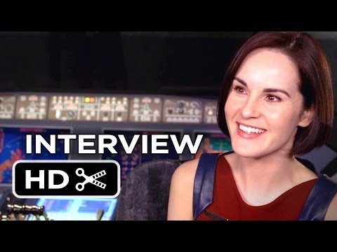 Non-Stop Interview - Michelle Dockery (2014) - Thriller HD - YouTube