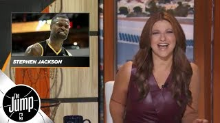 Rachel Nichols on social media drama feat. Butler, Wiggins, Stephen Jackson, more | The Jump | ESPN
