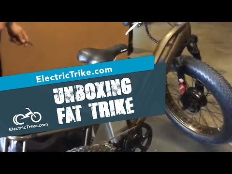 Electric Fat Trike - Unboxing