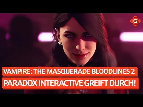 VAMPIRE: THE MASQUERADE - BLOODLINES 2: Paradox Interactive greift durch! |GW News 23.02.21
