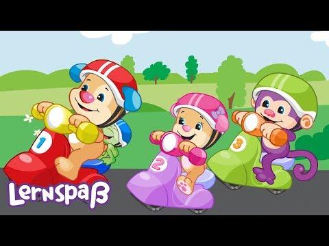 Lass uns Scooter fahren! | Lernspaß | Fisher-Price Deutsch | Kinderlieder | Cartoons für Kinder