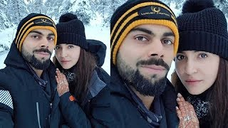 Anushka Sharma And Virat Kohli's Rome Honeymoon Photo OUT..