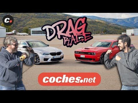 DRAG RACE BMW M5 Competition vs Dodge Challenger SRT Hellcat | coches.net