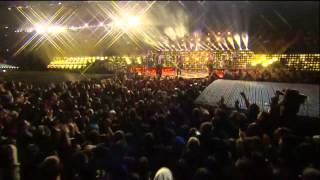 Super Bowl Halftime 2014 Bruno Mars and Red Hot Chili Peppers HD