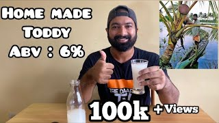 How to make toddy at home l Frisky Friday l The Daaru TV #coconuttoddy #homemade