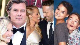 Deadpool 2 ... and their real life partners
