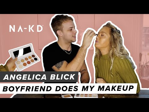Angelica Blick - Boyfriend does my Makeup!
